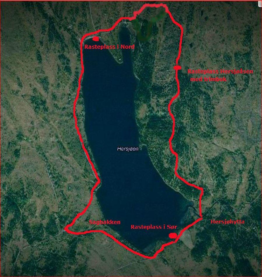 Kart Hersjøen 05